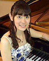 ピアニスト、篠永紗也子