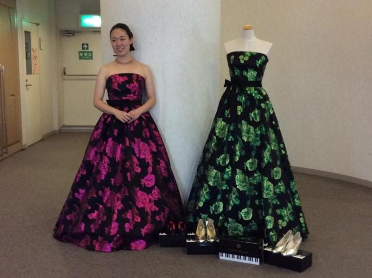 チャリティーコンサート2017 ピアノシューズ展示5